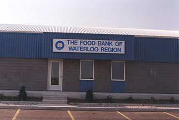 The Food Bank of Waterloo Region old Shirley Ave building