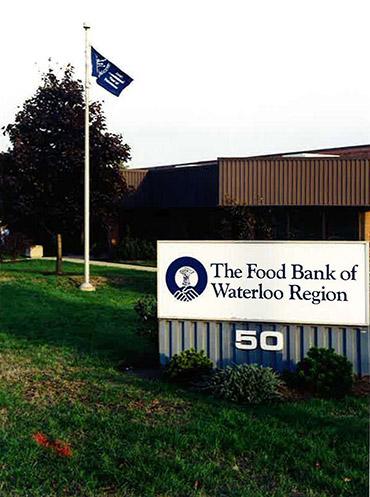 The Food Bank of Waterloo Region building