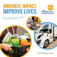 The Food Bank Annual Report 2014-15