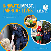 The Food Bank Annual Report 2015-16