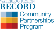 Waterloo Region Record Community Partnerships Program logo