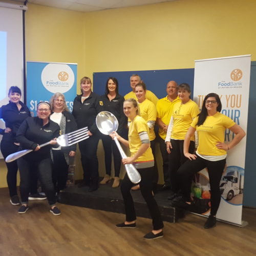 Great Food Sort Challenge 2018 Sunlife Financial and Valko Teams
