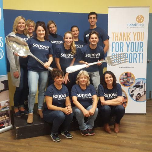 Great Food Sort Challenge 2018 Sonova Team