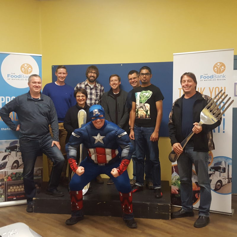 Great Food Sort Challenge 2018 Quadro Team