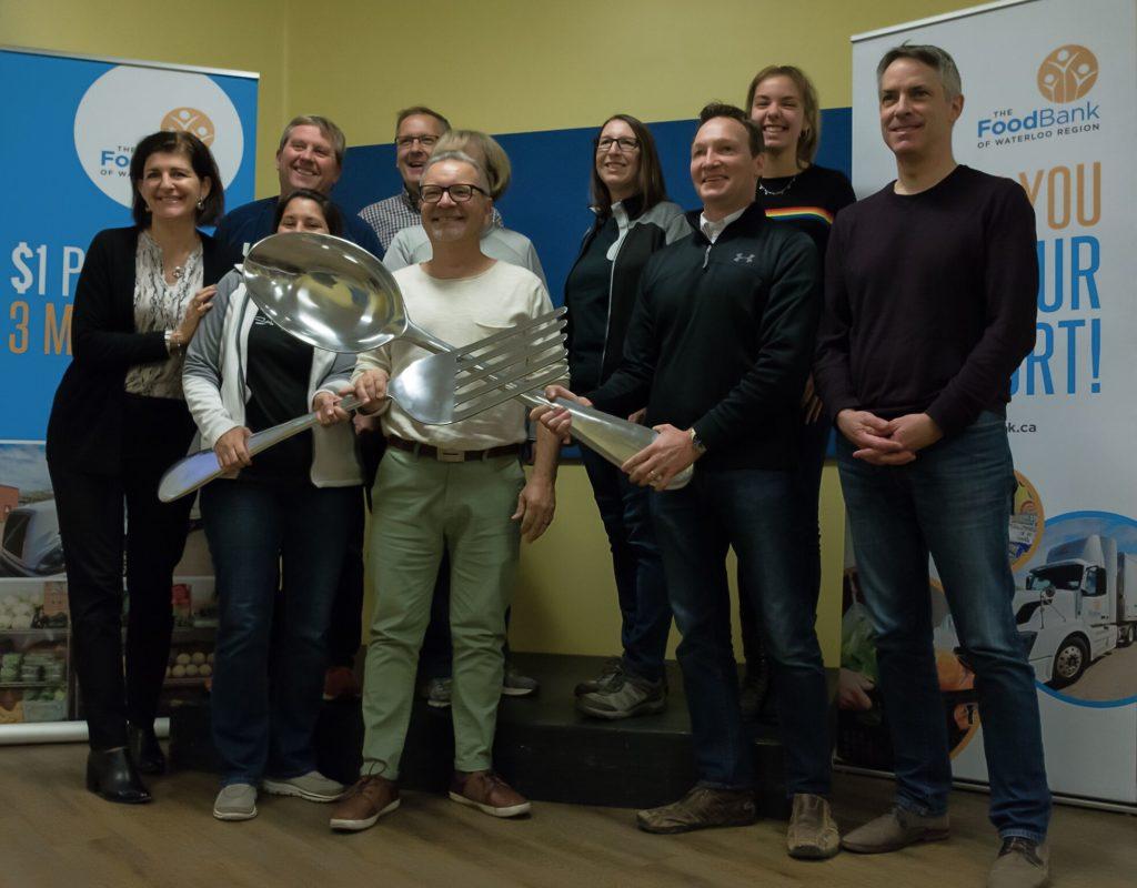 Great Food Sort Challenge 2018 WCDSB Team