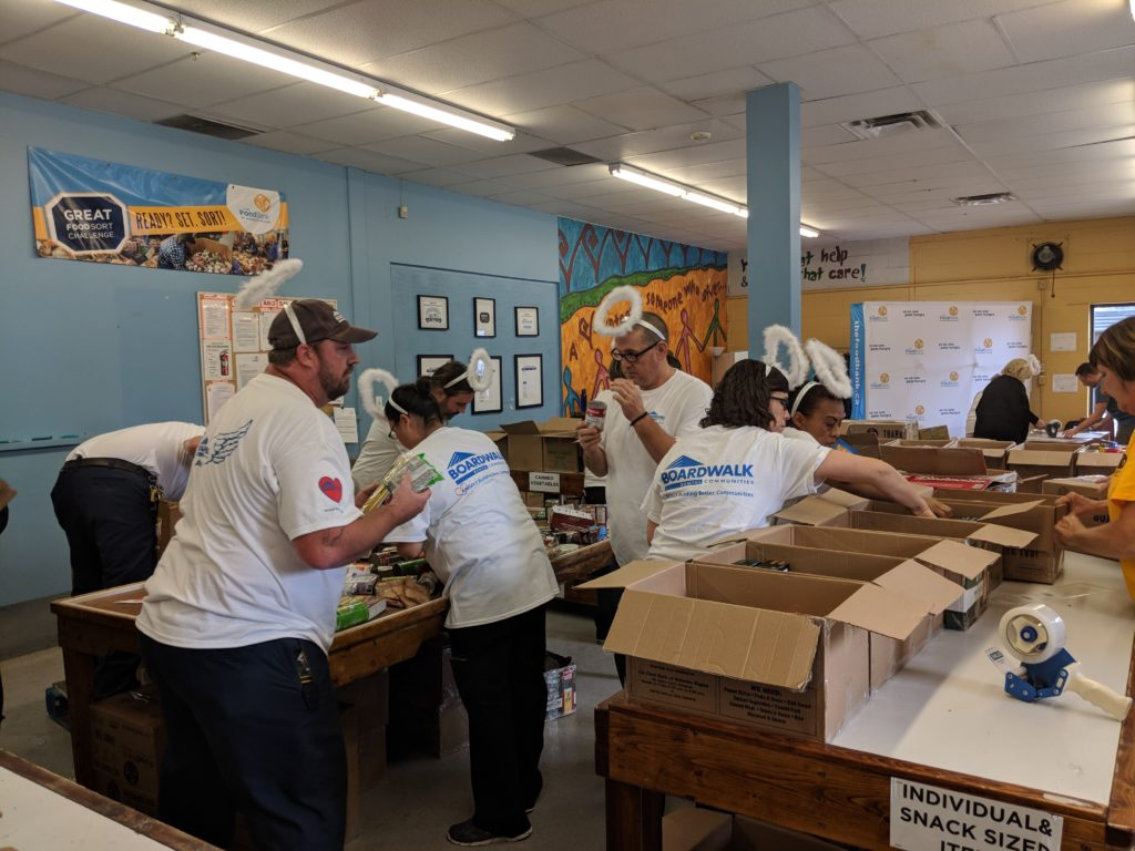 Great Food Sort Challenge 2018 Boardwalk Team
