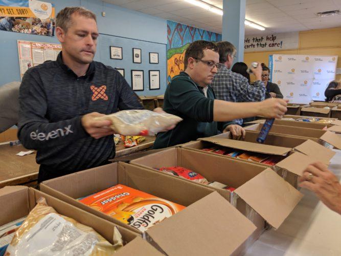 Great Food Sort Challenge 2018 eleven X Team