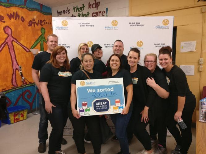 Great Food Sort Challenge 2018 YNCU Team