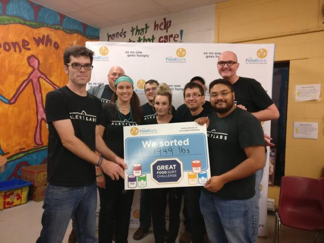 Great Food Sort Challenge 2018 Alert Labs Team