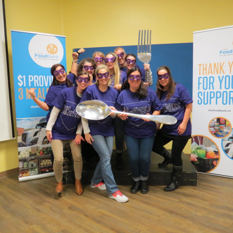 Great Food Sort Challenge 2018 Waterloo Wellington LHIN Team