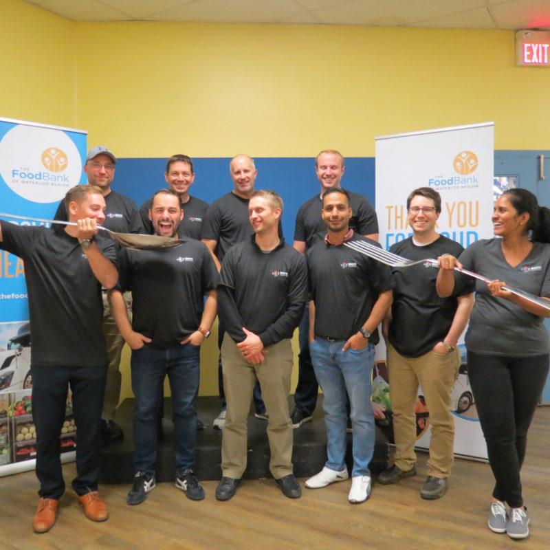 Great Food Sort Challenge 2018 Brock Solutions Business Dev Team