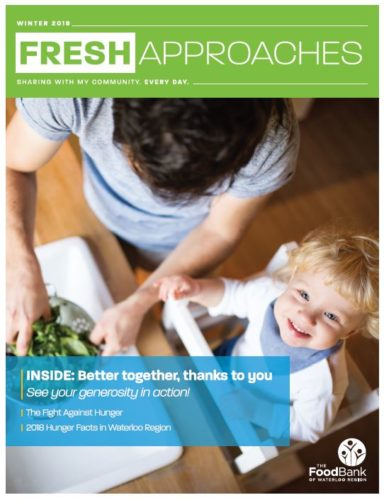 Front cover of the Fresh Approaches Winter 2019 newsletter