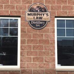 Murphys Law Sign Outside